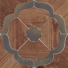 Керамический гранит Декор Гранд Вуд наборный 19,6х19,6х11 ID85