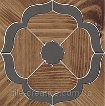 Керамический гранит Декор Гранд Вуд наборный 19,6х19,6х11 ID87