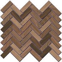 Керамический гранит Декор Селект Вуд беж темный мозаичный 33х33х9 SG194\002