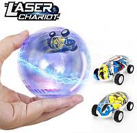 Машинка-спинер в шаре Laser Chariot, фото 1