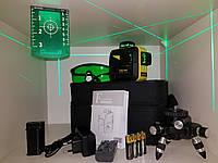 ☀БИРЮЗОВЫЙ ЛУЧ⇒150м☀⏏ПРИЕМНИК☀ Лазерный уровень Firecore F93T XG ➤⏏максимальная комплектация