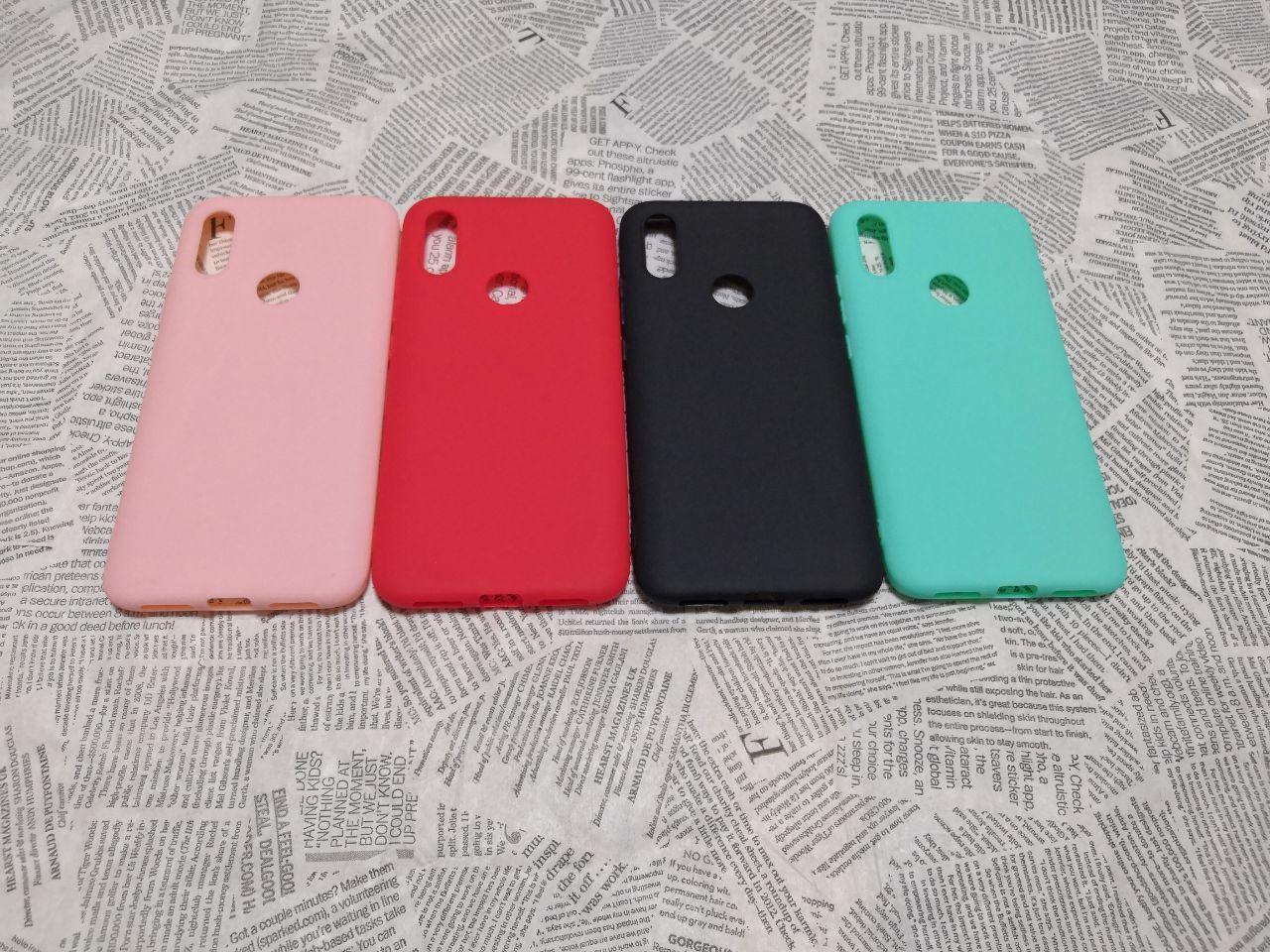 TPU чехол Smitt накладка бампер для Xiaomi (Ксиоми) RedMi 7 (без надписи)