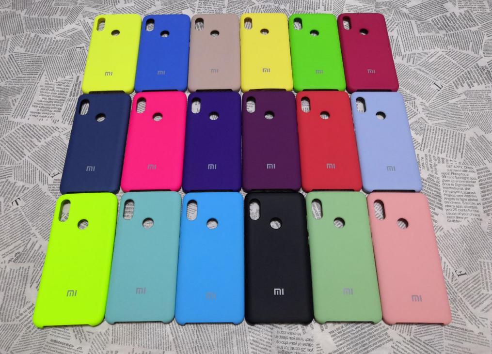 Резиновый брендовый Soft-touch чехол для Xiaomi (Ксиоми) Mi A2 Lite