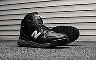 Кроссовки мужские New Balance Paradox Black White Winter (на меху), чёрно-белые. Размеры (42,43,46), фото 1