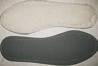 Стельки для обуви набивной мех +кож.картон с 36-46р опт, розн.