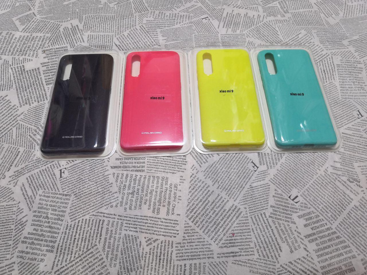 Силиконовый чехол с глянцевым покрытием MOLAN для Xiaomi (Ксиоми) Mi 9