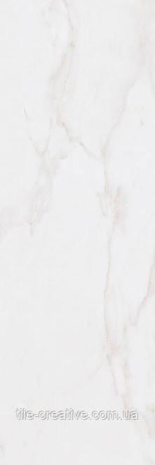 Керамическая плитка Астория белый обрезной 25х75х9 12105R