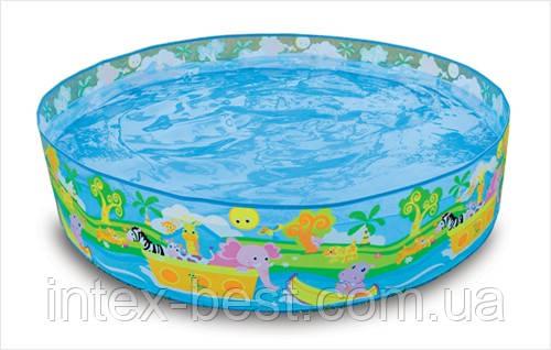 Intex 58474 - каркасный бассейн Snapset Pool 122x25 см