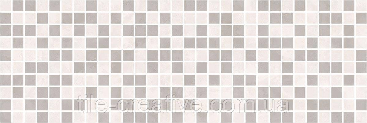 Керамическая плитка Декор Город на воде мозаичный 25х75х9 MM12114