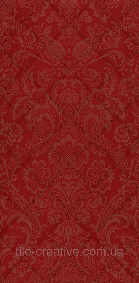 Керамічна плитка Даніелі червоний структура обрізний 30х60х9 11107R