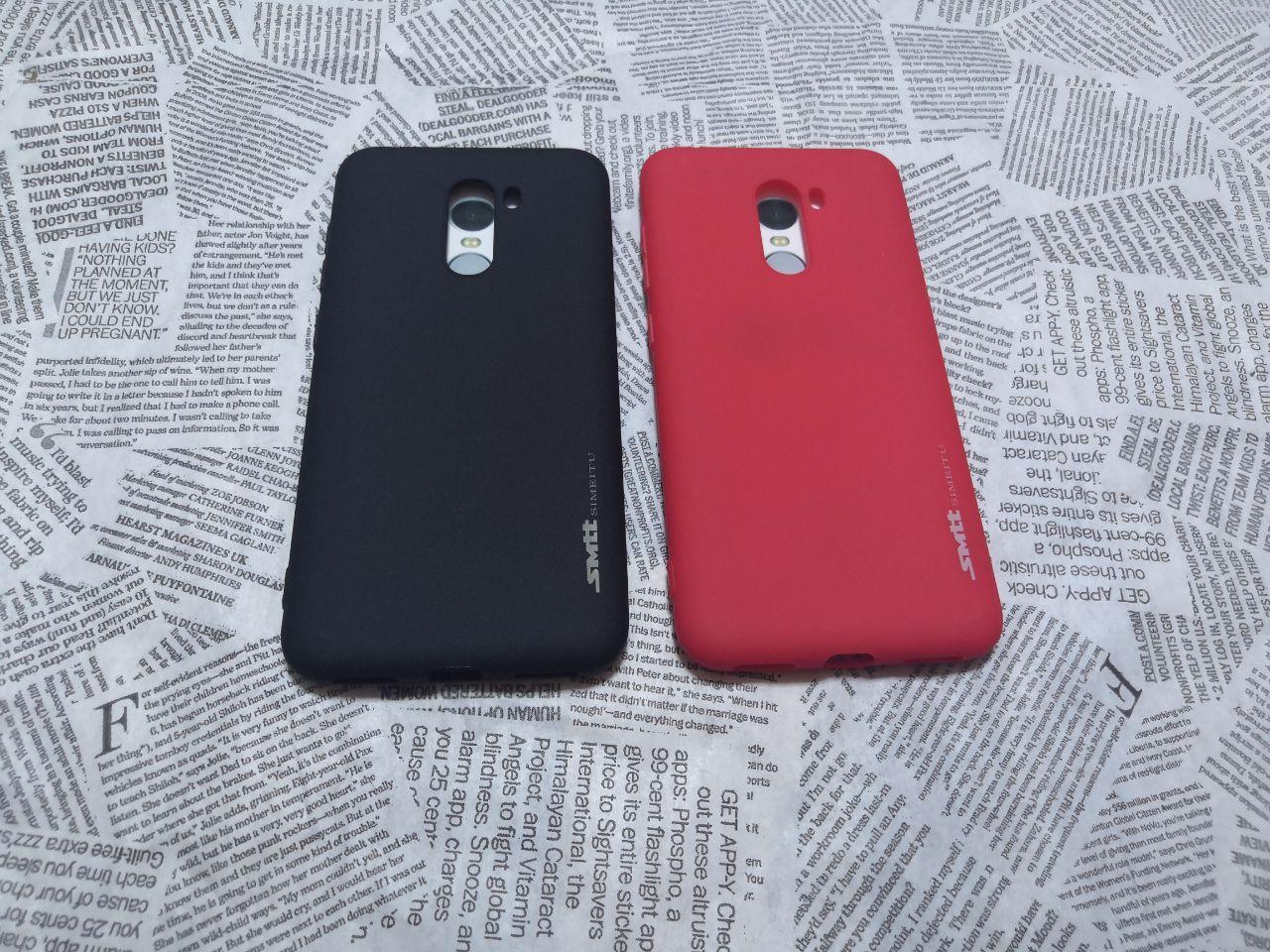 TPU чехол Smitt накладка бампер для Xiaomi (Ксиоми) Pocophone F1