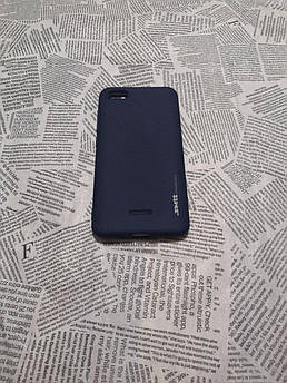 TPU чехол Smitt накладка бампер для Xiaomi (Ксиоми) RedMi 6A (Синий)