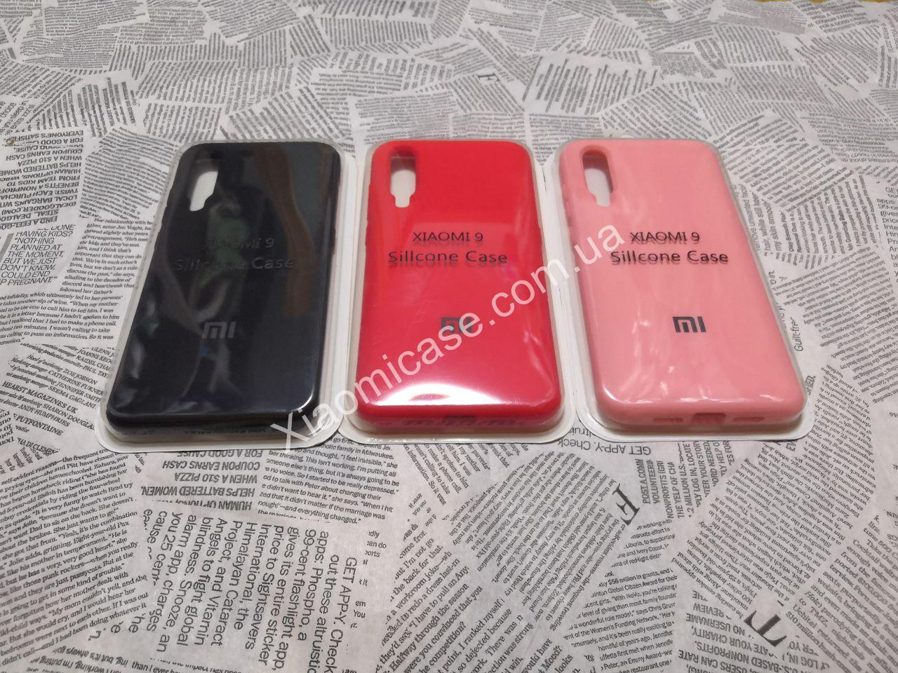 TPU чехол накладка бампер Silicone Cover Full Protective для Xiaomi (Ксиоми) Mi 9