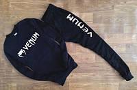 Мужской чёрный костюм в стиле VENUM имя+значёк