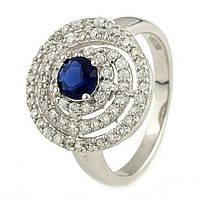 Серебряное кольцо ShineSilver с фианитами (0929736) 17.5 размер