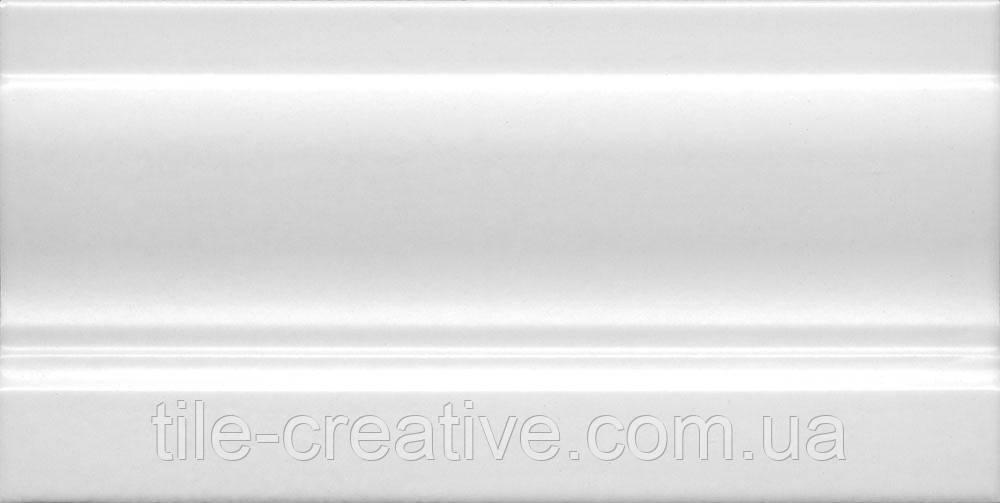 Керамическая плитка Плинтус Линьяно белый 20х10х14 FMC003