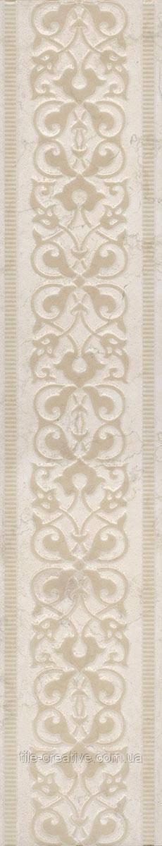 Керамическая плитка Бордюр Резиденция обрезной 50,2х9,6х9,5 AD\A329\SG4539