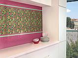 Керамическая плитка Декор мозаичный Танец цветов DT26, фото 2