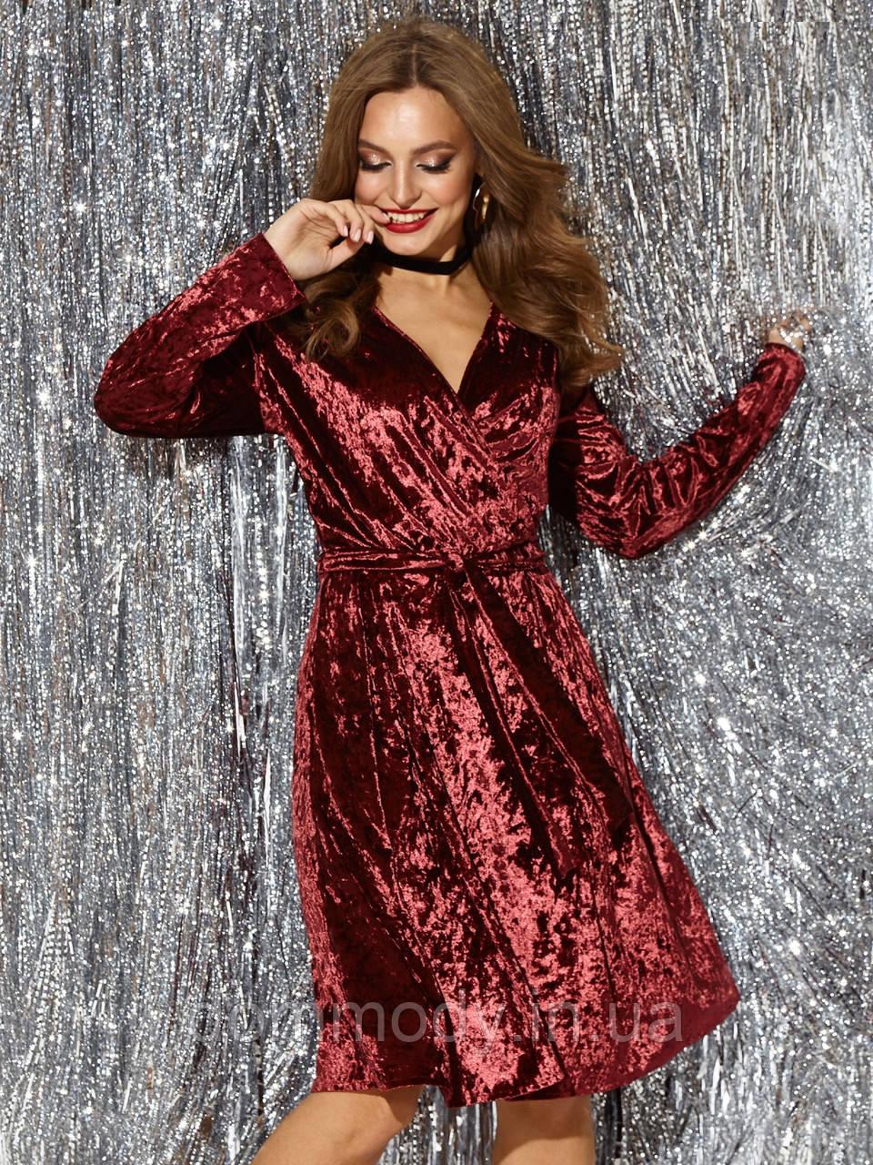 Коктейльное платье женское с открытой спинкой