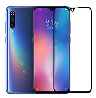 Защитное 2.5D стекло для Xiaomi (Ксиоми) Mi 9 Se (чёрное)