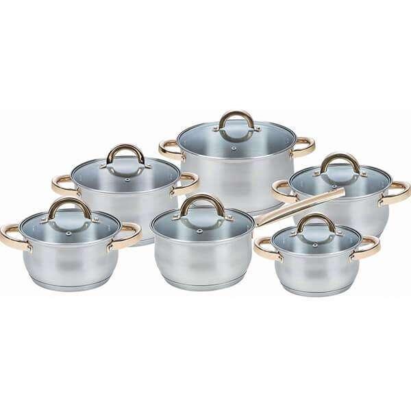 Набор посуды 12 предметов MAESTRO MR-2106