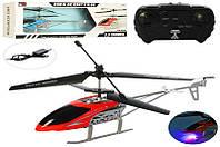 Вертолет 655 (12шт) р/у, акумм,33,5см,3,5канала,гироск,свет,USBзарядн,2цв,в кор-ке,48,5-19-7,5см