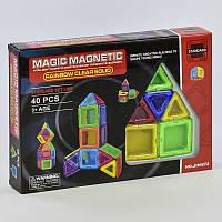 Конструктор магнитный JH 6872 (36) 40 деталей, в коробке [Коробка]