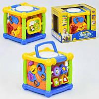 "Игра ""Волшебный кубик"" 7502 Play Smart (12/4) музыкальный, в коробке [Коробка]"