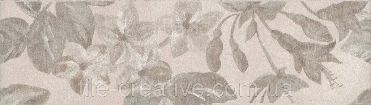 Керамическая плитка Бордюр Александрия светлый 20х5,7х6,9 8267\5
