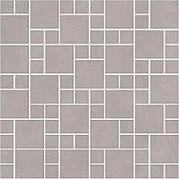Керамическая плитка Декор Александрия серый мозаичный 30х30х8 SG185\002