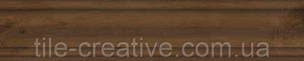 Керамический  гранит Плинтус Сальветти вишня 39,6х8х15,5 SG5405\BTG