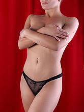 Трусики женские Diorella 5892, цвет Черный, размер S
