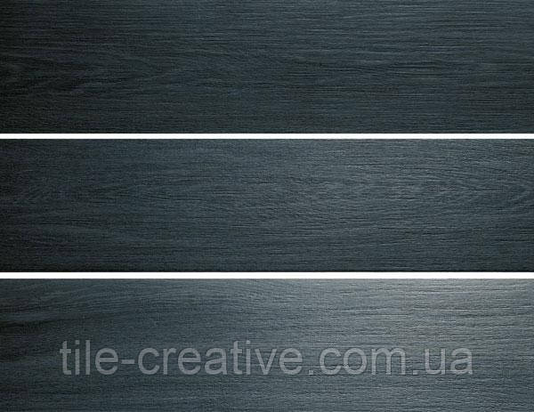 Керамический  гранит Фрегат чёрный обрезной 20х80х11 SG701800R