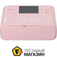 Принтер портативный Selphy CP-1300 Pink (2236C011) a6 (10.5 x 14.8 см) - термосублимационная цветная печать