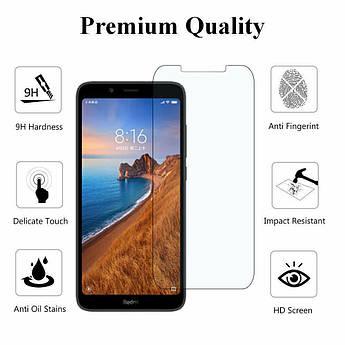 Защитное стекло для Xiaomi (Ксиоми) Redmi 8 (С отступами)