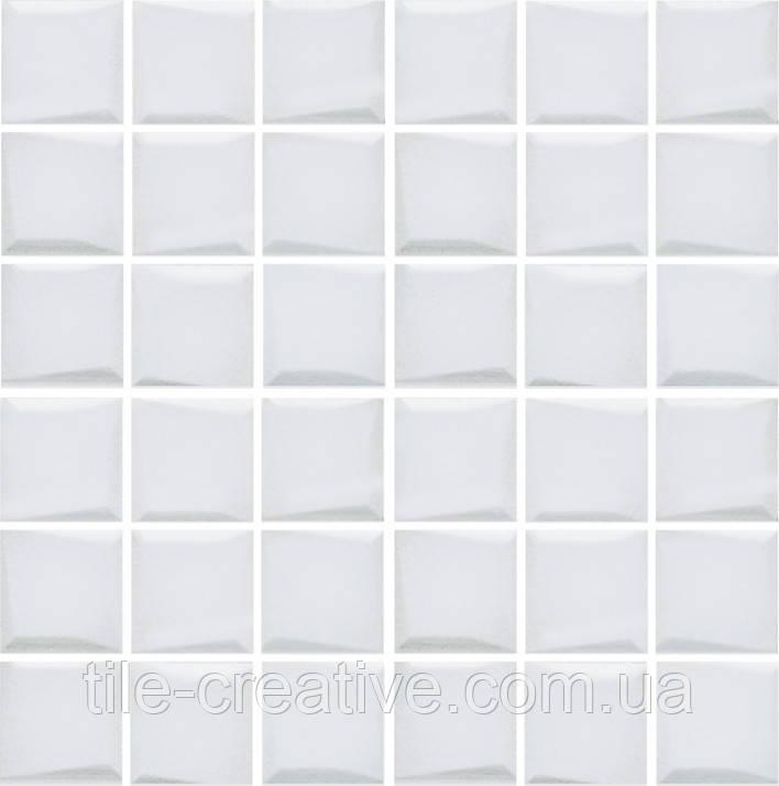 Мозаика Анвер белый 30,1х30,1х6,9 21044