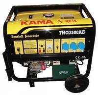 Генератор бензиновый KAMA TNG3500AЕ (2.7 кВт)