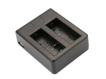 Зарядний пристрій SJCam на два акумулятора для камер SJ4000, SJ5000, M10 (SV)