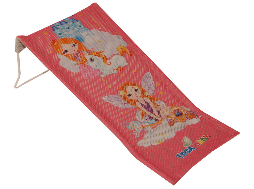 Горка для купания Tega Little Princess LP-026 (сетка) 123 pink