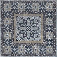 Керамический гранит Вставка Бромли серый темный 19,6х19,6х8 STG\C259\SG1504