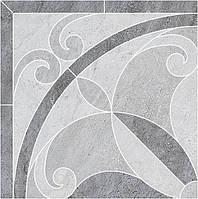 Керамический гранит Декор Монтаньоне 1/4 розона наборный 42х42х9 ID50
