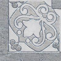 Керамический гранит Вставка Монтаньоне серый лаппатированный 9,7х9,7х9 HGD\B39\TU0031L