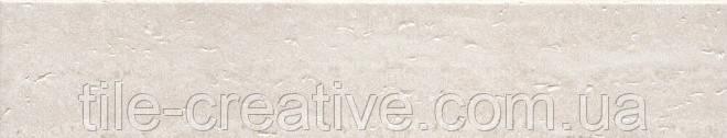 Керамический гранит Плинтус Пантеон беж светлый 40,2х7,6х8 SG157100R\5BT