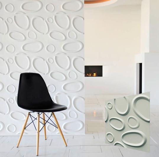 """Гипсовая 3d панель для стен """"Брызги"""" (декоративная стеновая 3д панель)"""