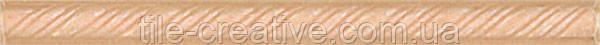 Керамическая плитка Карандаш Косичка желтый 20х1,5х10 195
