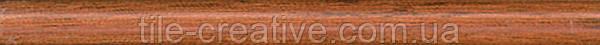 Керамическая плитка Карандаш Дерево коричневый матовый 20х1,5х10 212