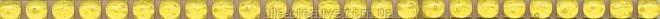 Керамическая плитка Карандаш Бисер лимонный 20х0,6х11 POD004