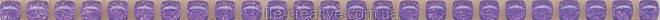 Керамическая плитка Карандаш Бисер фиолетовый 20х0,6х11 POD013
