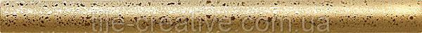 Керамическая плитка Карандаш золото 25х2х12 B24\78