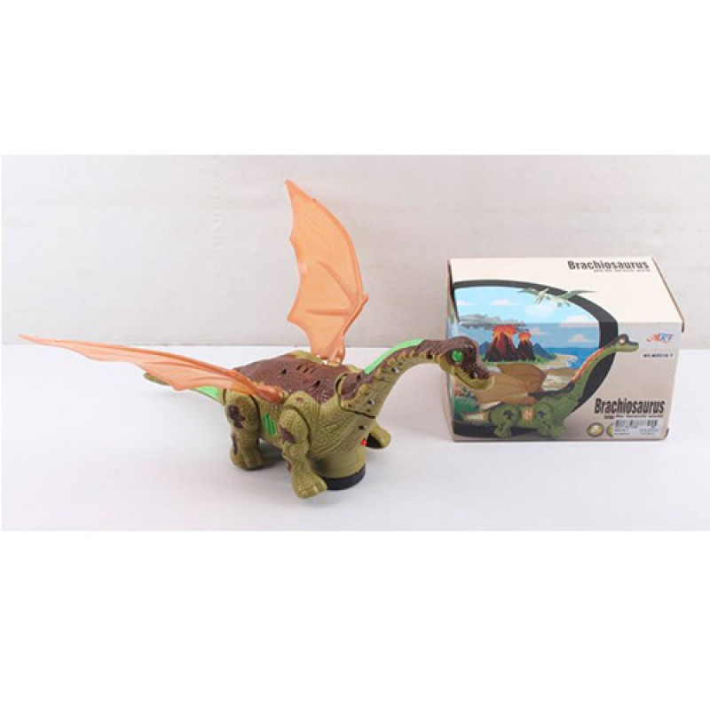 Игрушка дракон, который умеет ездить - звуковые и световые эффекты, M8018-7